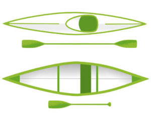 canoe kayak difference preview
