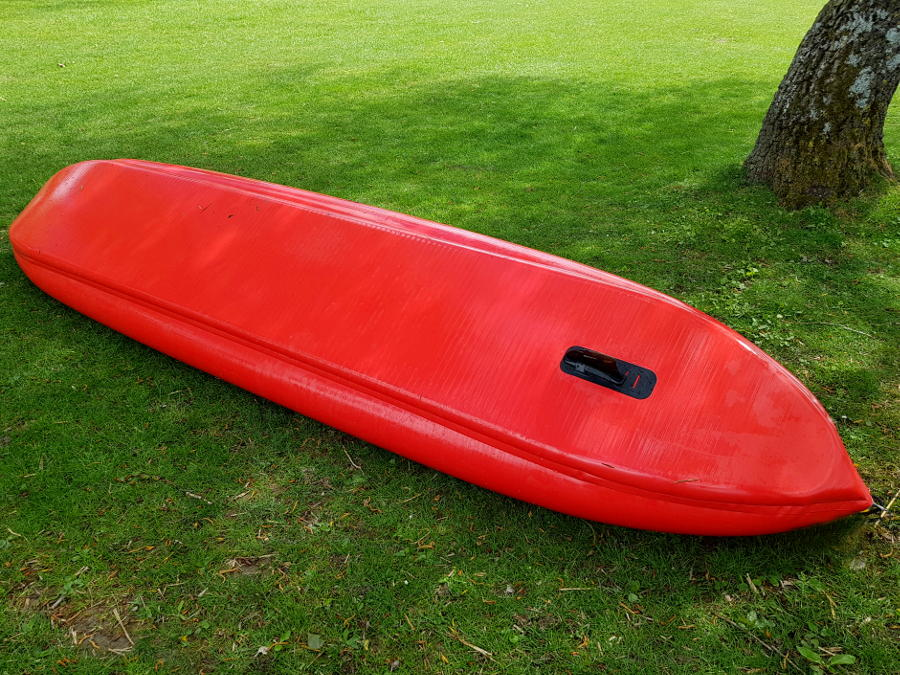 drop stitch kayak hull