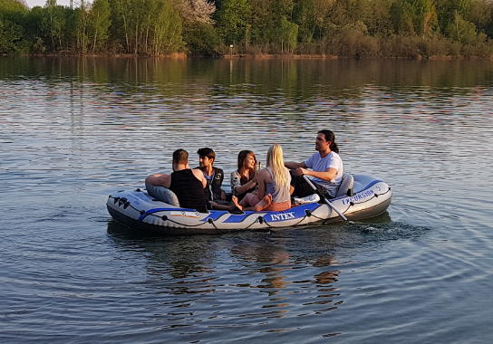 inflatable boat intex