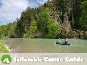 inflatable canoe river