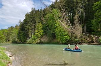 canoe home