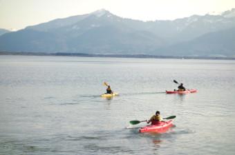 kayak home