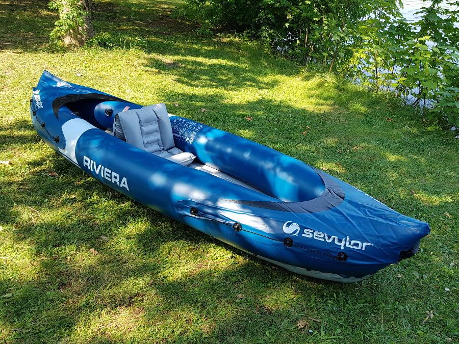 1 person kayak sevylor riviera