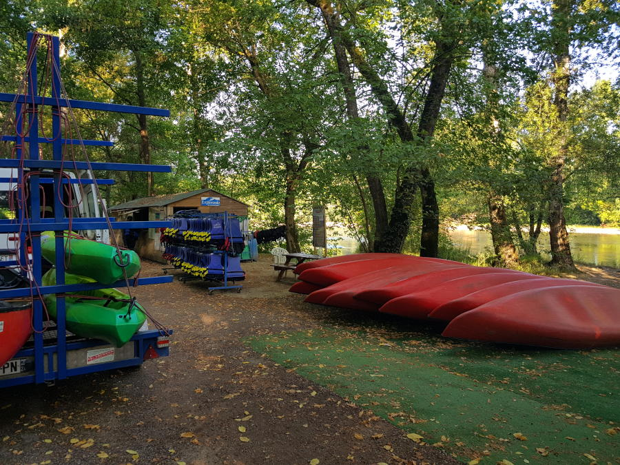 canoe rental dordogne