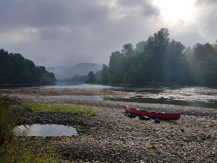 canoe tour france