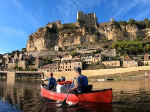 canoe trip dordogne beynac