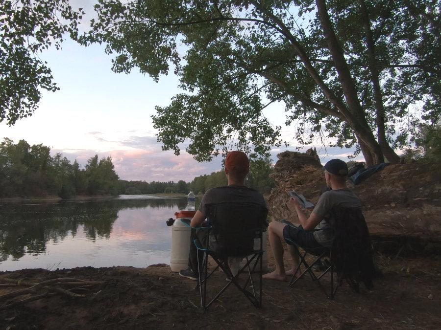 dordogne river wild camping