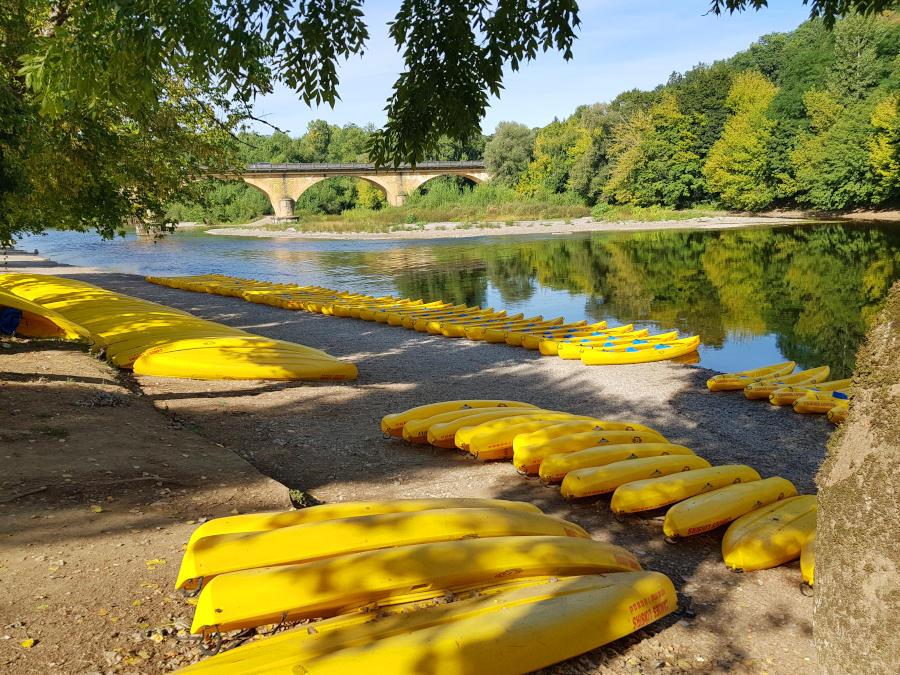 vitrac canoe rental