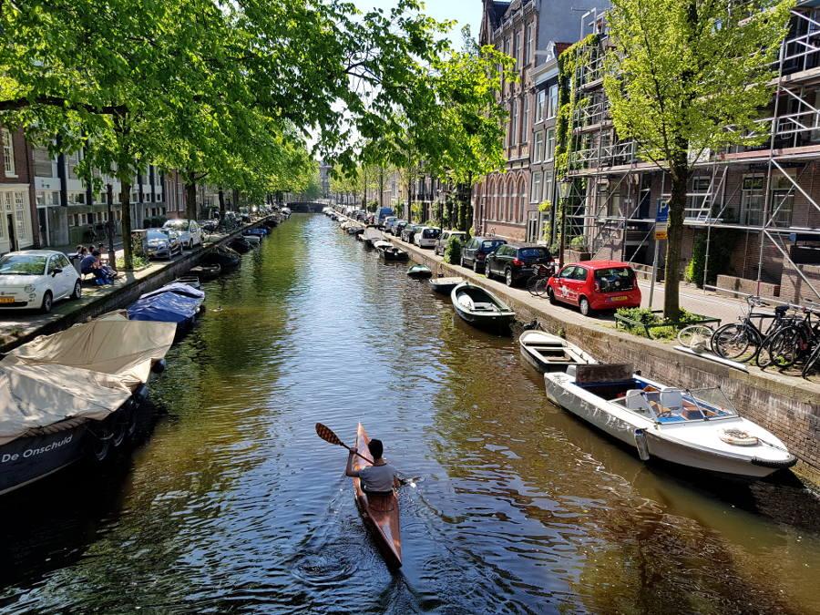 kayaking amsterdam