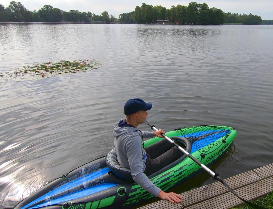 challenger k1 paddling