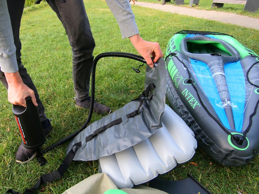 inflatable kayak seat