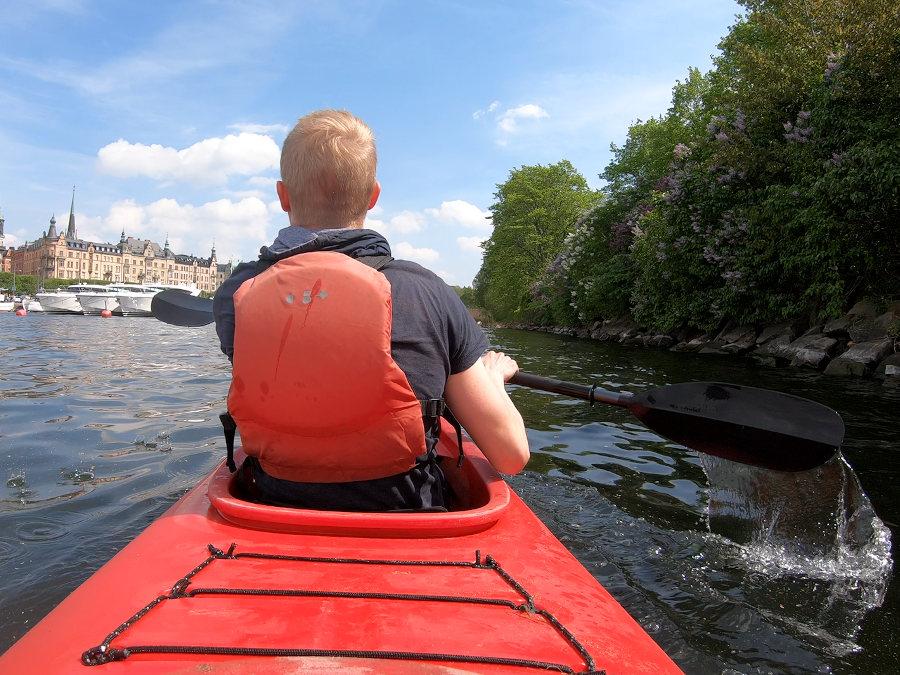 stockholm paddling tour