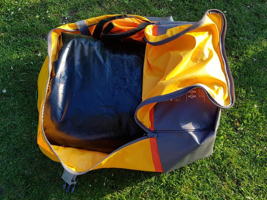backpack for bestway venture kayak
