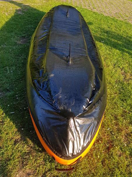 bestway inflatable kayak hull