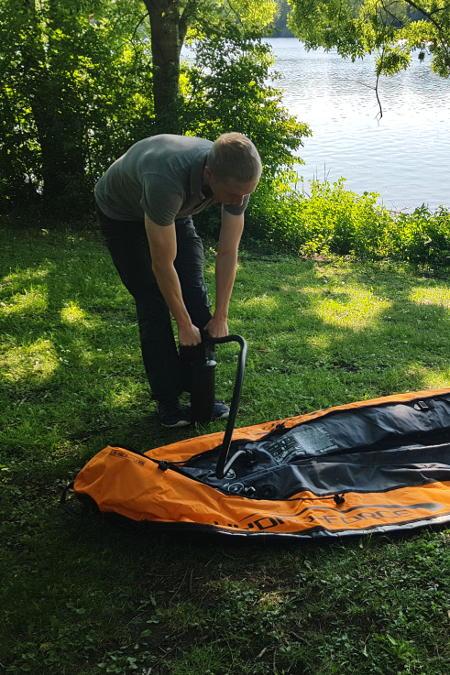 bestway ventura kayak assembly