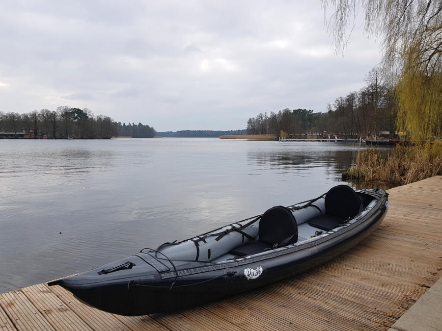 inflatable kayak gumotex rush 2