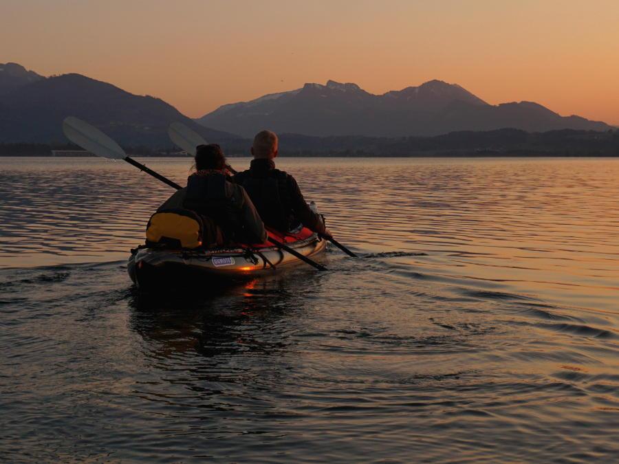 inflatable kayak gumotex test