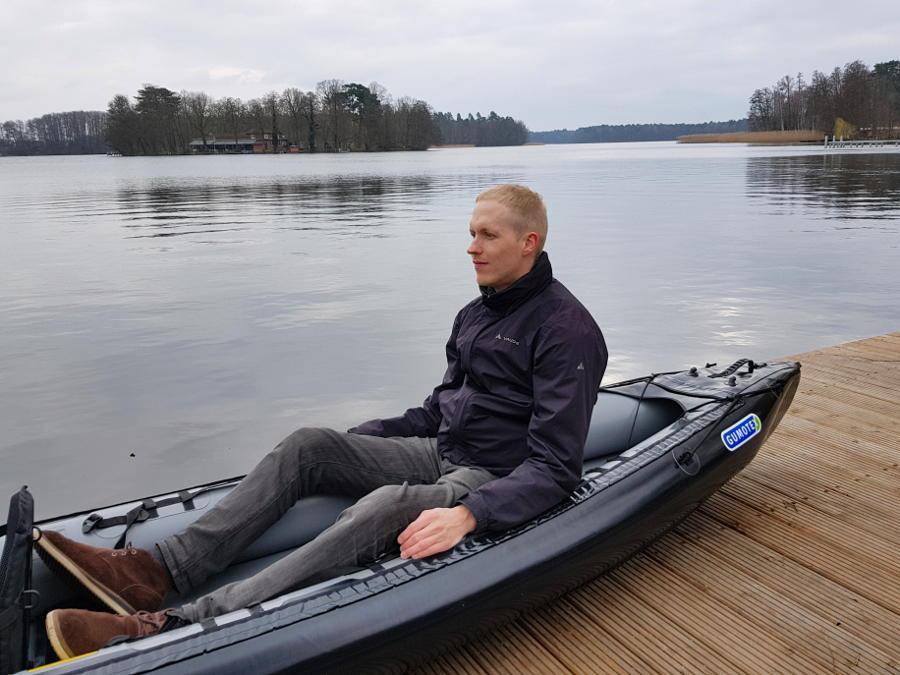 kayak gumotex rush space