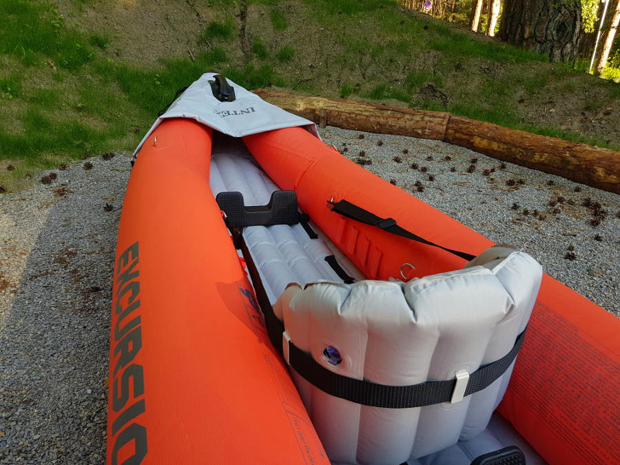 intex excursion kayak place