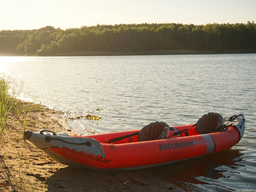 intex excursion pro kayak test