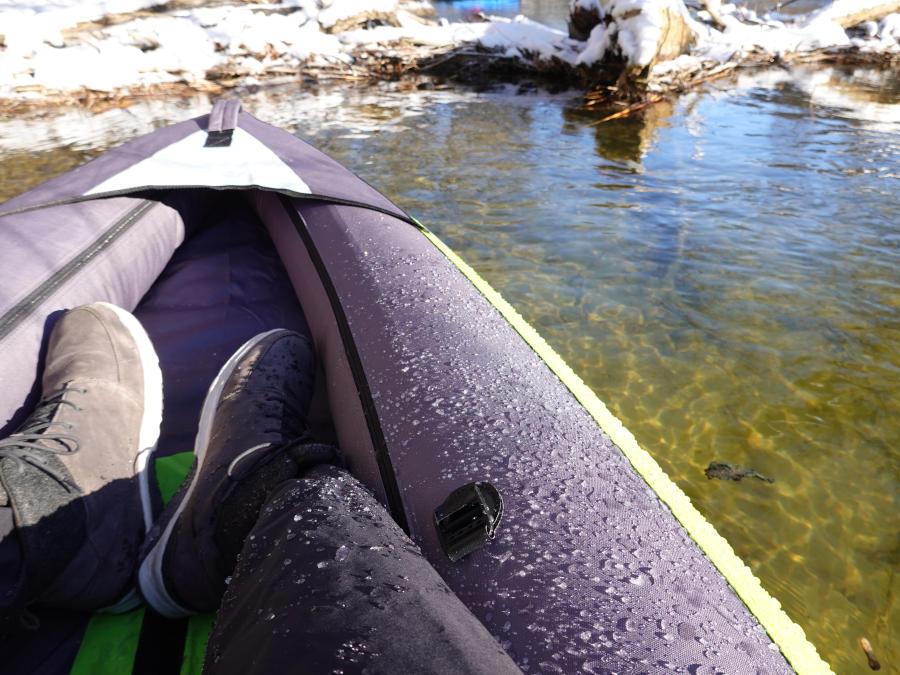 Itiwit Touring Kayak space