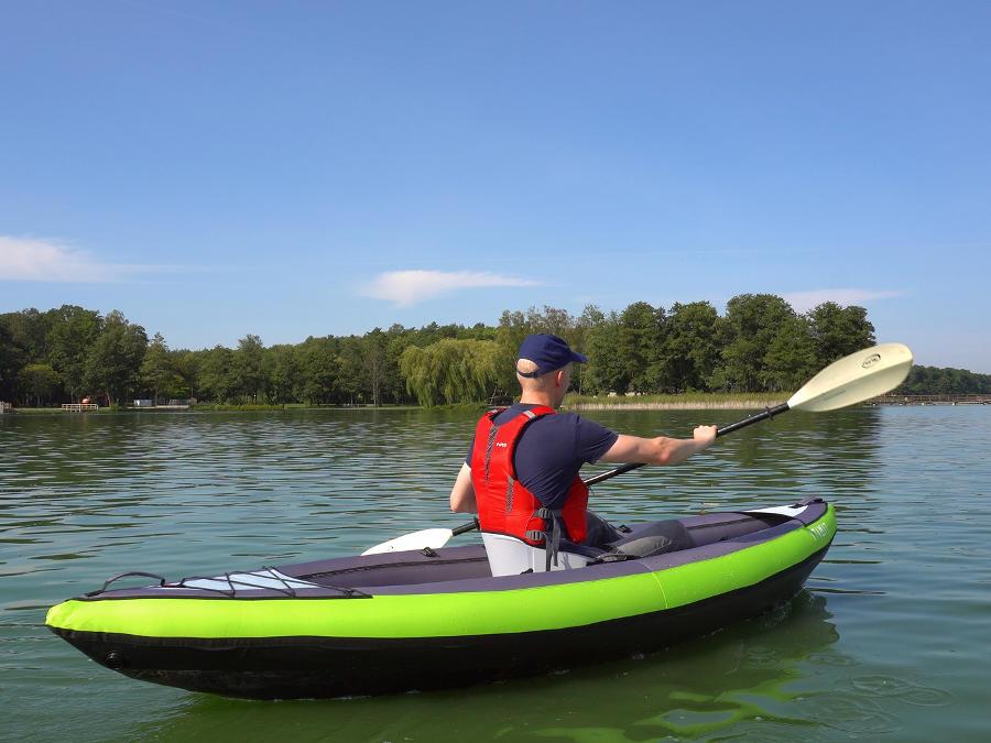 decathlon kayak touring test