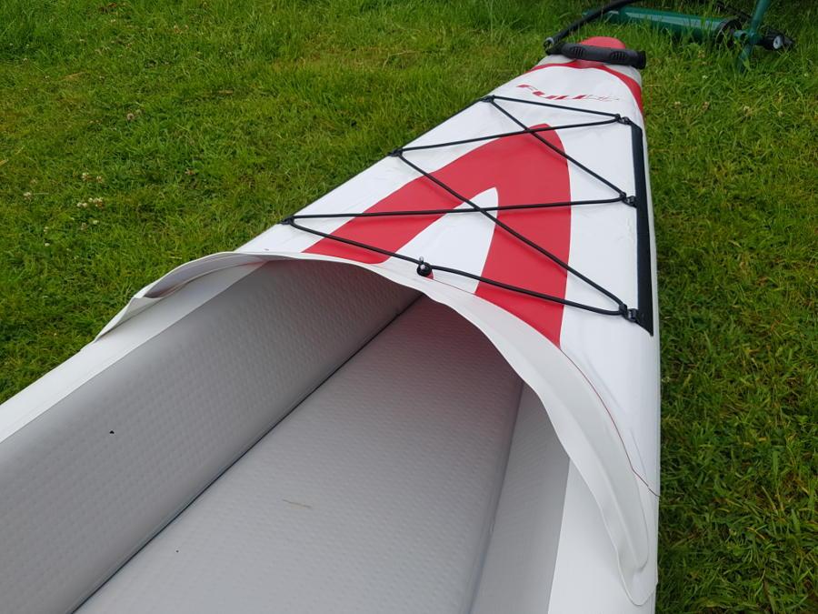 drop-stitch technology for kayak