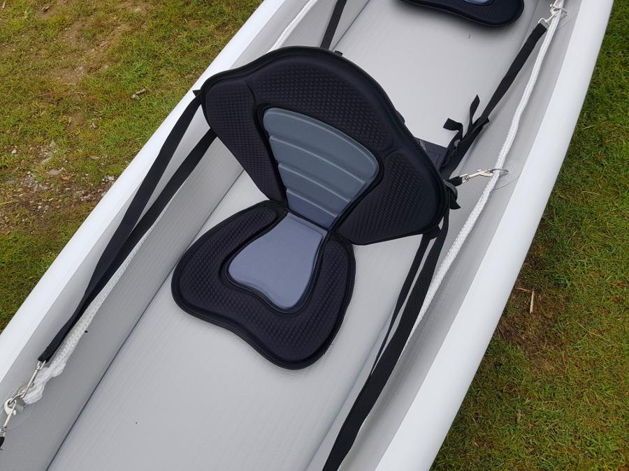 inflatable drop-stitch kayak seats
