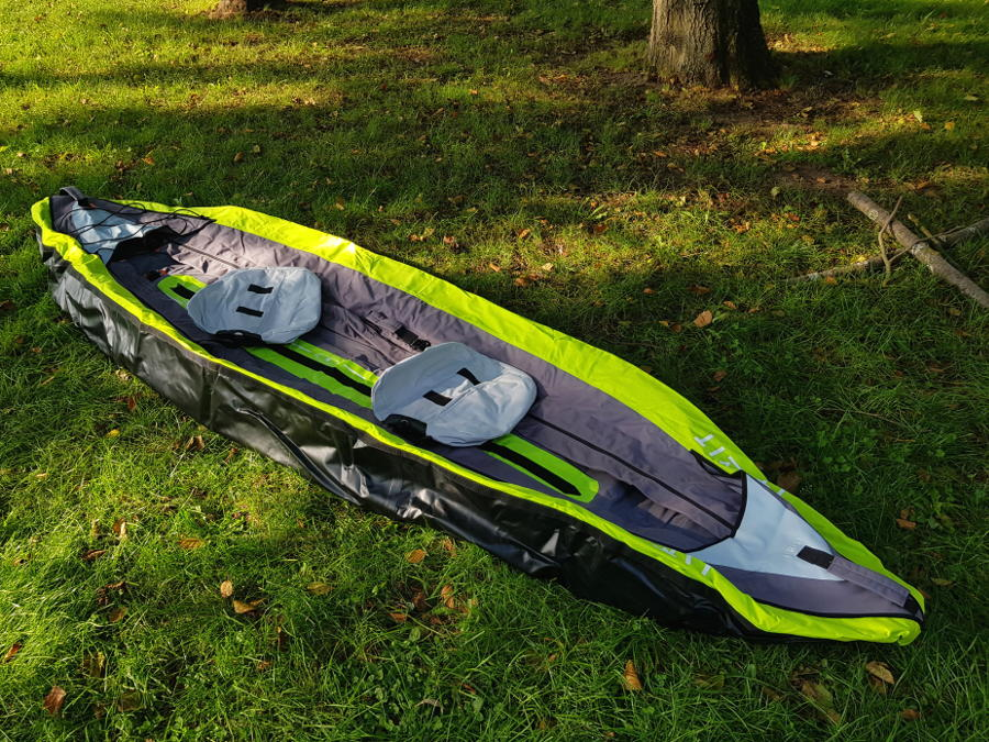 itiwit decathlon kayak setup