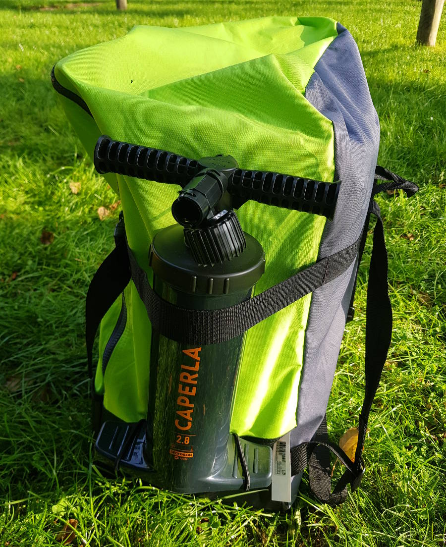 itiwit touring backpack air pump
