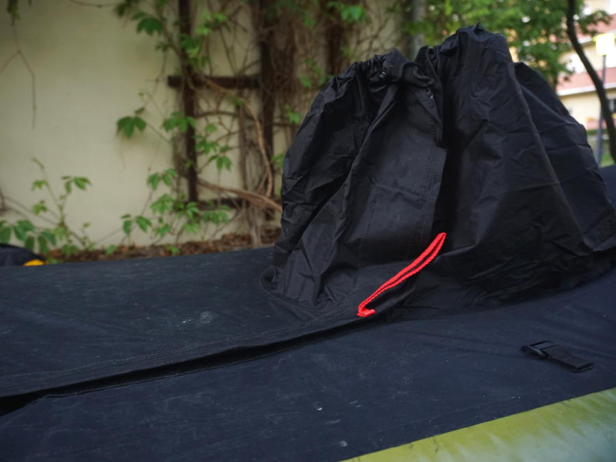 anfibio packraft spray skirt