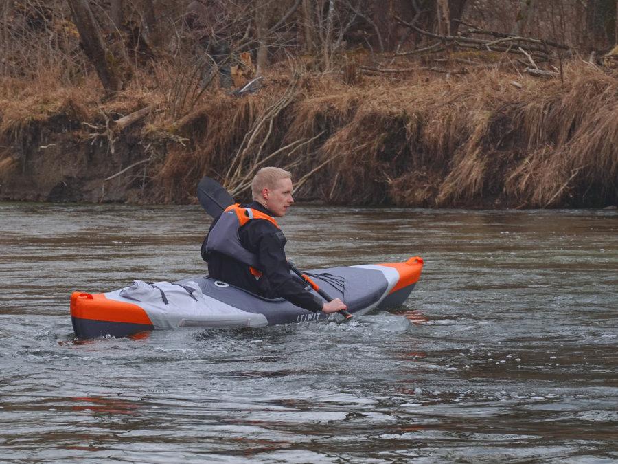 itiwit x500 kayak paddling characteristic