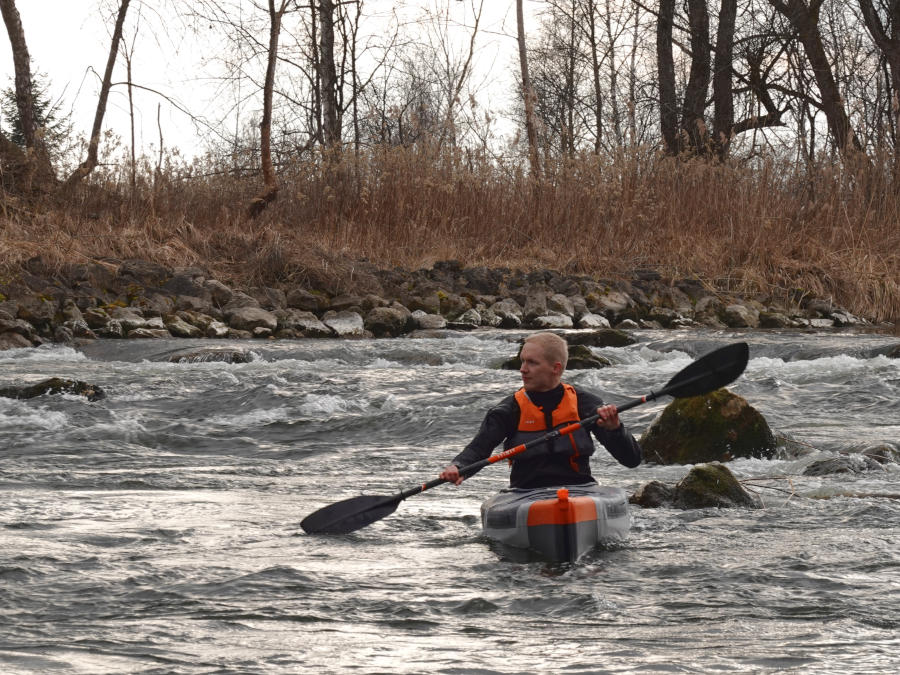 itiwit x500 whitewater experience