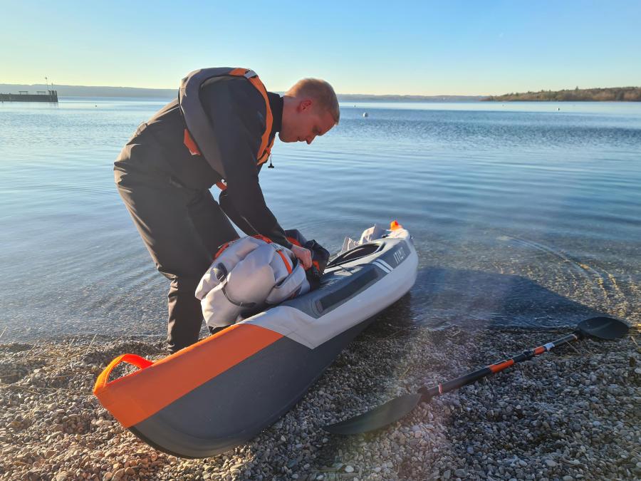 itiwit drop stitch kayak review