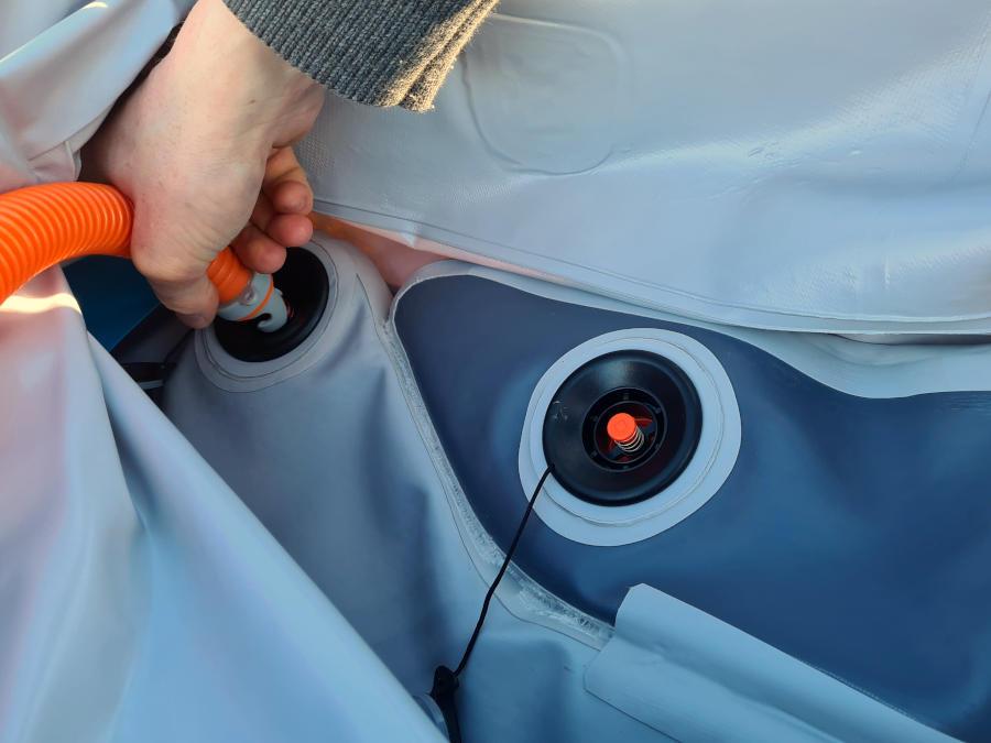 itiwit x500 inflatable valve