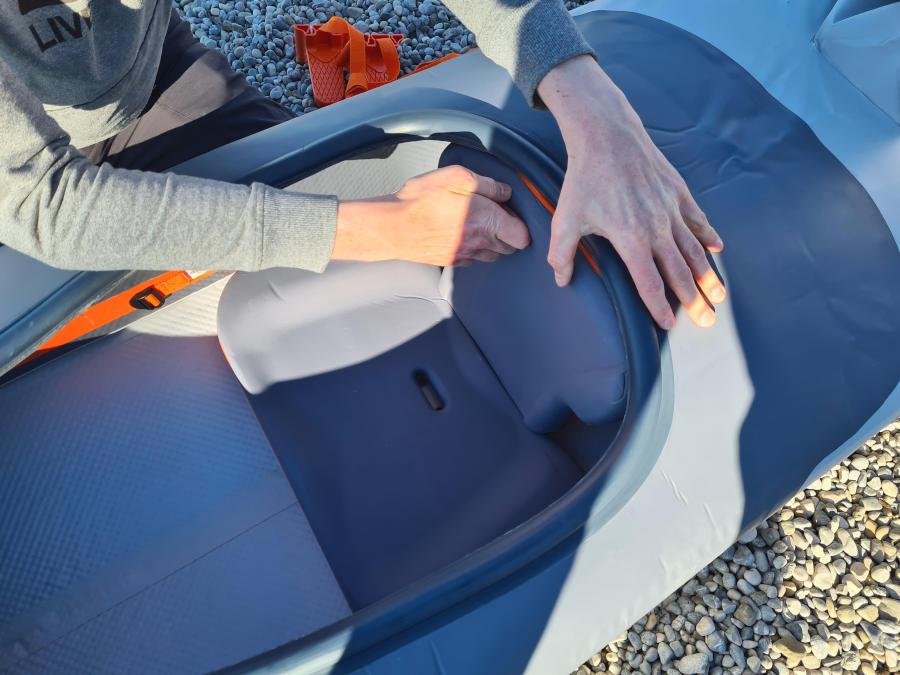 kayak x500 seat