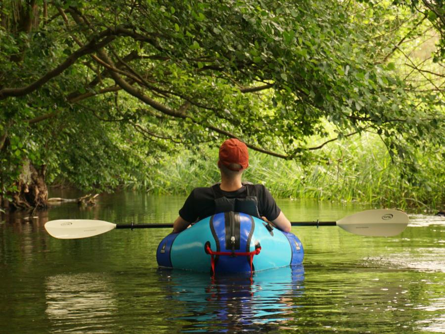 packrafting river tour